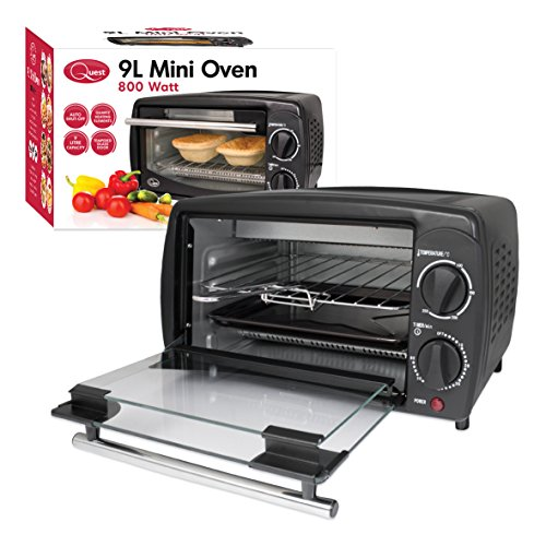 Quest Mini Oven, 9 Litre, Black