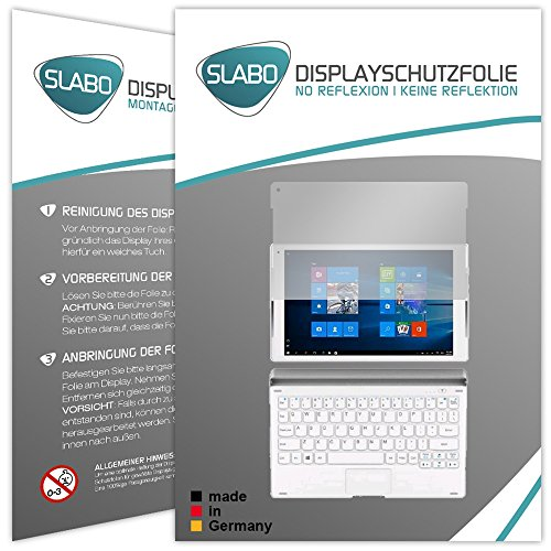 2 x Slabo Bildschirmschutzfolie ALCATEL Plus 10 Bildschirmschutz Schutzfolie Folie