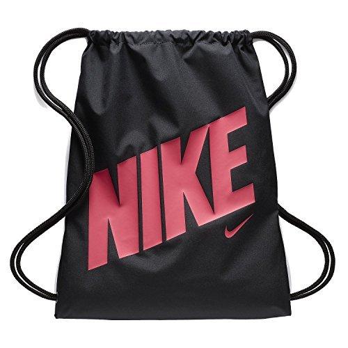 Nike Y NK GMSK - GFX - Mochila de cuerdas, Unisex, Negro - (BLACK/BLACK/RUSH PINK)