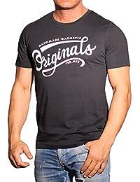 JACK & JONES Herren T-Shirt Jornyraffa Tee Ss Crew Neck Noos