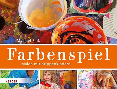 Farbenspiel: Malen mit Krippenkindern