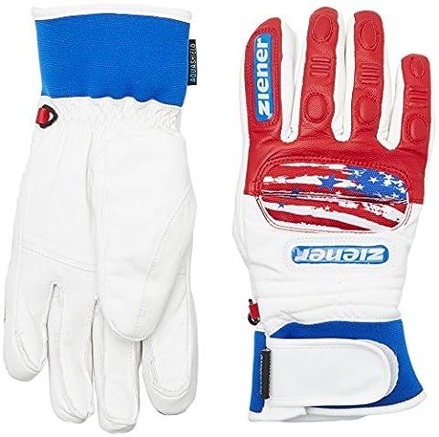 Ziener Gran Dax AS (R) Glove Gants de ski de Race 9,5 USA.vista blue