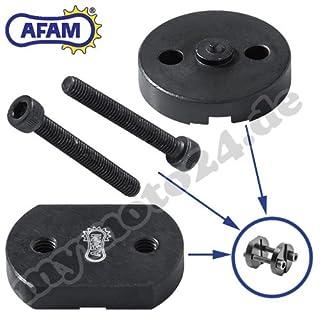 AFAM Easy Chain Riveter RIV5Chain Rivet Extractor Chain Riveting Tool, for Hollow Rivet Locks (520/525/530) DID RK Eunuma