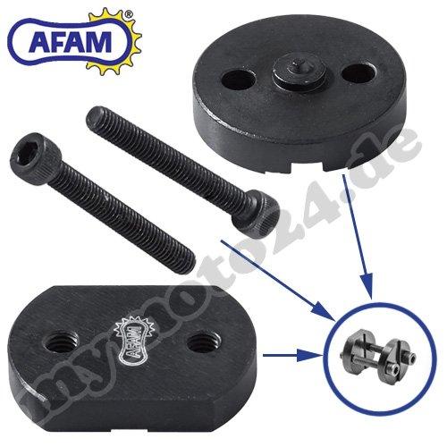 AFAM Kettenvernieter Nietwerkzeug Motorradketten, Easy Chain Riveter RIV5, für Hohlnietschlösser (520/525/530) DID RK Eunuma