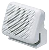 Shakespeare Es-2 External Marine Speaker with Ratchet Action Mounting Bracket - White, 2.25 Inch