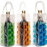 #10: JERN Wine Bag Beer Bottle Cooler & Ice Chiller Freezable Carrier(Pack of 2)