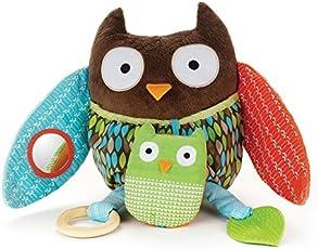 Skip hop Treetop Friends Hug & Hide Owl Activity Toy, Multi Color