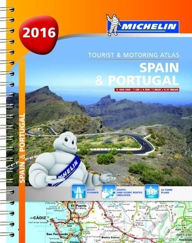 Michelin Maps (Michelin Tourist and Motoring Atlas) por Michelin
