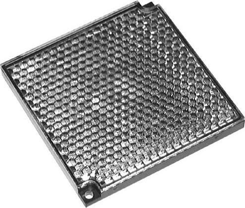 Pepperl+Fuchs Fabrik Reflektor H85-2 Reflektor für Lichtschranke 4050143017515 -