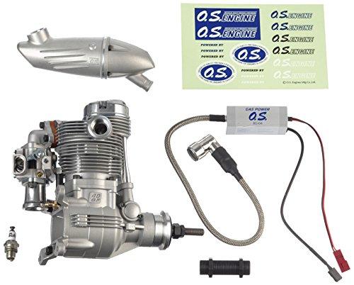 Graupner 1420 OS GF 40 con - Motore F-6040 Silenziatore