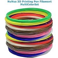 NuNus HIPS Filamento 1,75mm Set Multicolore 7 colori per 5