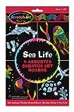 Melissa and Doug Giochi artistici Graffiti per bimbi (scratch art) - Quadri artistici - Vita nel mare