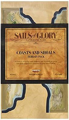 Sails of Glory: Terrain Pack - Coasts and Shoals