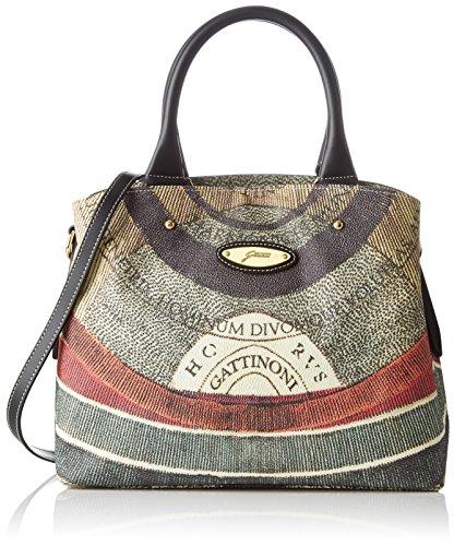 Gattinoni Gacpu0000097, Borsa a Mano Donna, 14x27x33 cm (W x H x L) Multicolore (Classico)