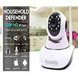 Royallite Royal Lite HD IP Wifi CCTV Indoor Security Camera,(White Color)