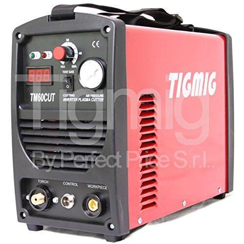 TAGLIO PLASMA INVERTER TIGMIG TM 60 CUT HF TAGLIO 16 MM COMPLETA...