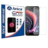 #9: AVICA® 2.5D HD Premium Tempered Glass Screen Protector for HTC Desire 10 Pro [Proper Camera and Sensor Cut]