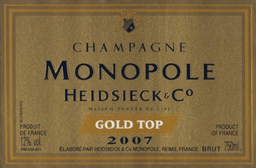 Champagne-Heidsieck-Co-Monopole-Gold-Top-Vintage-mit-Geschenkverpackung-1-x-075-l