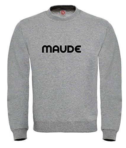 Felpa Maude - Print Your Name Gray