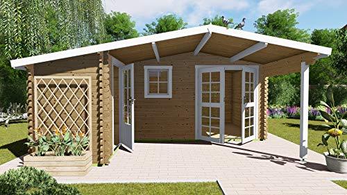 AL Wood Ltd - Cabaña de Madera para jardín, Oficina, Forma de...