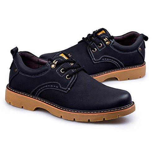Utensili all'aperto di autunno e inverno sfregamento scarpe casual scarpe Martin black