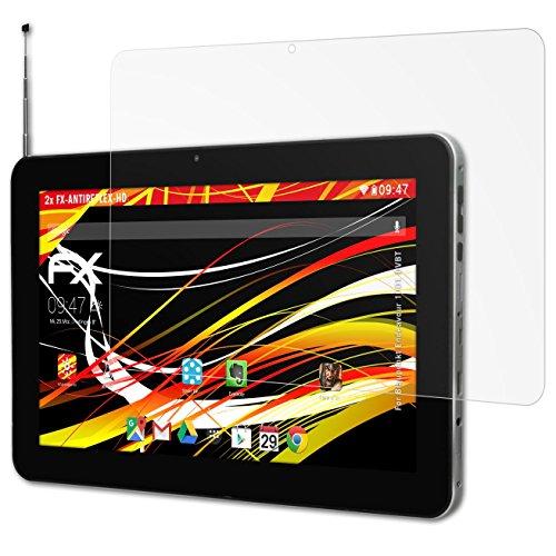 atFolix Schutzfolie kompatibel mit Blaupunkt Endeavour 1001 DVBT Bildschirmschutzfolie, HD-Entspiegelung FX Folie (2X)