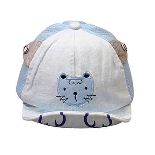 b41ee9e5d1a ... Niño Niña Sombrero de Sol con Algodón Gorro de Borde Suave Primavera  Verano Otoño para Niños Bebé (46-52cm, Azul). marzo 15, 2019. item image.  ¡Comprar ...