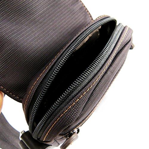 Hombre bolsa 'Lafayette'marrón.