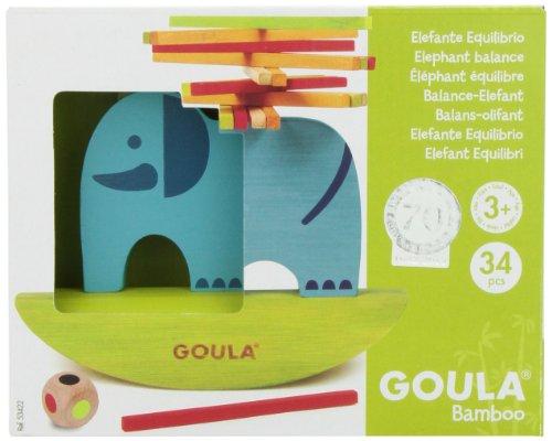 Imagen principal de Goula - Elefante, juguete de madera (Diset 53422)