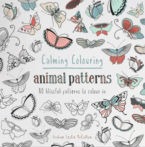 Calming Colouring Animal Patterns Cover Image