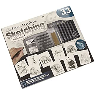 Royal Langnickel AME-110 Sketching Made Easy Activity Set - Skizzierset