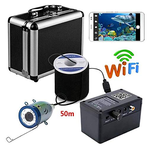 GJR-OUT HD 720P WiFi Wireless 50M Unterwasserfischen Kamera Video-Aufnahme für IOS Android APP unterstützt Videoaufnahme
