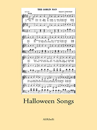 Halloween Songs (English Edition)
