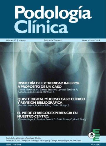 Podología Clínica 1-2014 par  Varios Autores
