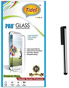 Tidel 2.5D Curved Tempered Glass Screen Guard Protector For Samsung Galaxy Grand (i9082) With Stylus