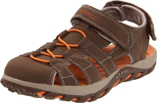 Merrell Waterpro Web J85399, Braun - Dark Earth - Größe: 25