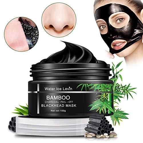 Chzeo Carbón De Bambú Máscara Negra, Black Mask Mascarillas...