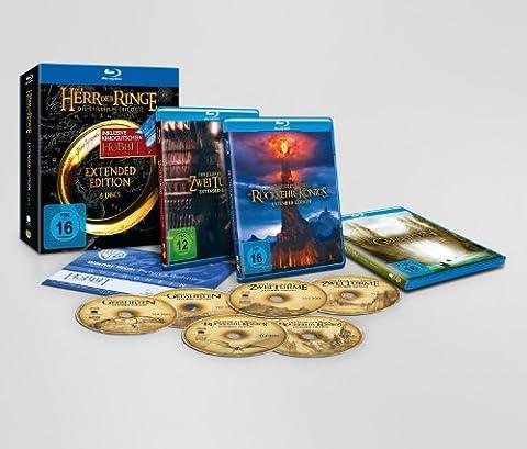 Der Herr der Ringe 1-3 [Extended Edition] [inkl. Kinogutschein: Der Hobbit - Smaugs Einöde]