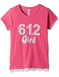 612 League Girls' T-Shirt (ILS17I58036-7 - 8 Years-PINK)