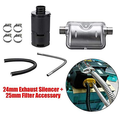 heling896-8-PCS-Universal-Accessories-for-Air-Diesel-Riscaldatore-Silenziatore-di-scarico-24mm25mm-Accessorio-di-ricambio-per-Air-Diesel-Riscaldatore-Tubo-dellaria-di-combustioneTubo-di-scappamento