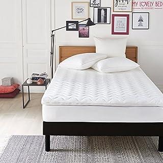My Lovely Bed - SurMatelas Mémoire de Forme 140x190/200 cm - Epaisseur 7cm - Déhoussable - Mousse Viscoélastique Haute densité