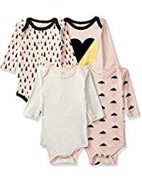 Mother's Choice Baby Girls' Clothing Set (Pack of4)