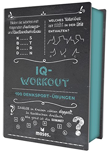 Quiz-Box IQ-Workout: 100 Denksport-Übungen (Quiz-Boxen)