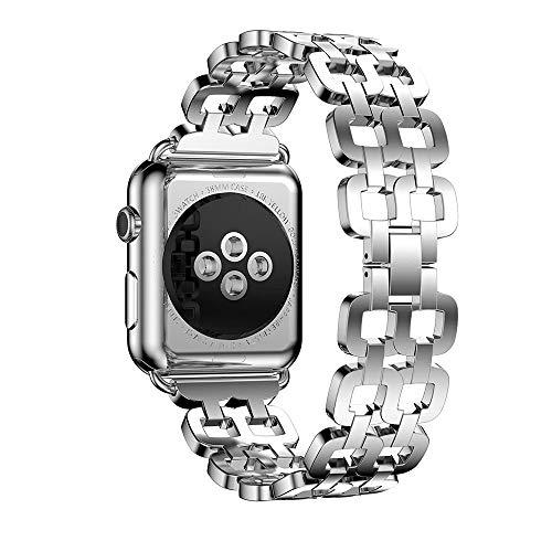 Altsommer Edelstahl Uhrenarmband für Apple Watch Series 1 42mm, Ersatzarmbänder Replacement Wrist Band, Armband Uhrenarmband, Ersatzarmband Zubehör Verstellbares Band