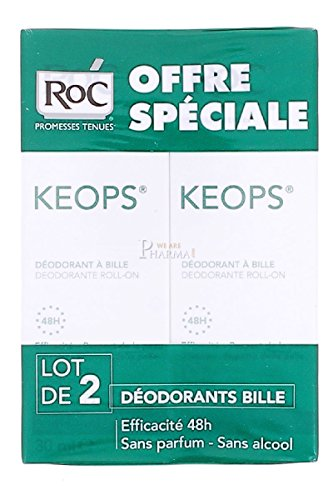 Keops Duo redonda, sin alcohol, eficiencia 48h -20%