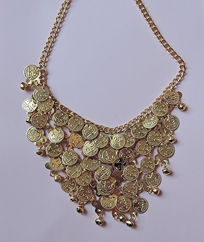 Golden-exotisches Münz-Collier
