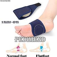 pedimend Einstellbare Druck Medical Plantarfasziitis Fuß Arch Support (2Paar)–Silikon Gel Fuß Massagegerät... preisvergleich bei billige-tabletten.eu