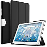 Acer Iconia One 10 B3-A40 Case - IVSO Slim Smart Cover Case for Acer Iconia One 10 B3-A40 Tablet  Custom designed for your precious Acer Iconia One 10 B3-A40 tablet. This IVSO case features a combination of functionality and style. Premium quality PU...