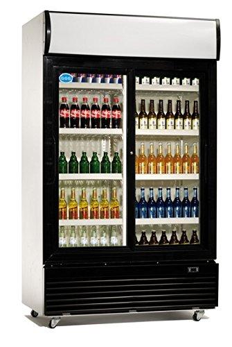 Flaschenkühlschrank 800 Liter Kühlschrank Umluftkühlung Getränkekühlschrank Gewerbekühlschrank 1000 x 730 x 2036 mm