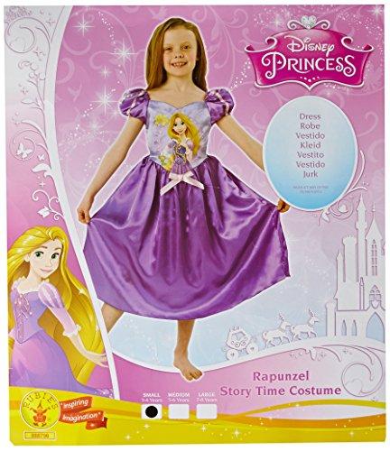 Princesas Disney - Rapunzel Storytime, disfraz para niños (Rubie's 888798-S)
